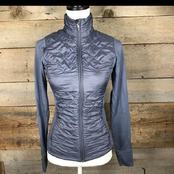 Icebreaker Jackets Coats Euc Quilted Merino Gt Hybrid Jacket Poshmark